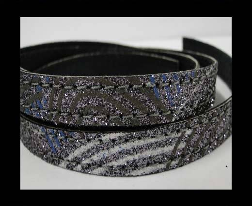 Buy Flat Nappa Glitter  Stitch Cord 10mm - SE-FNG-13 at wholesale prices