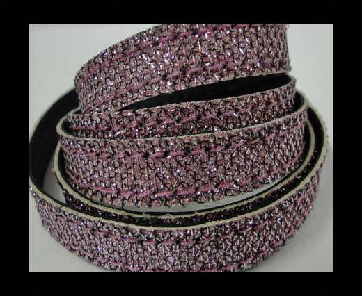 Buy Flat Nappa Glitter  Stitch Cord 10mm - SE-FNG-19 at wholesale prices