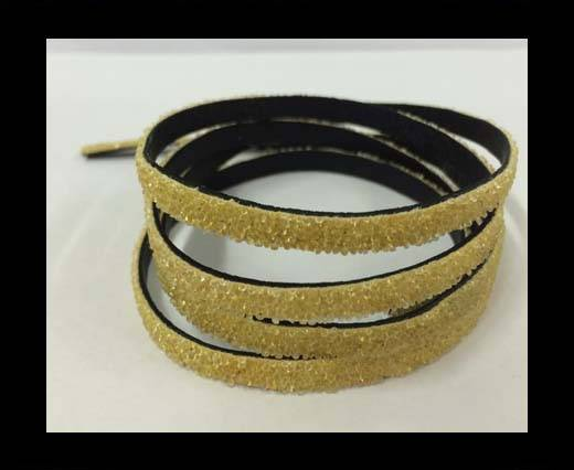 Buy Flat Nappa Glitter  Style Cord - 5mm - SE-FNG-01 at wholesale prices