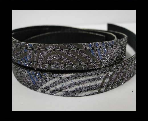 Buy Flat Nappa Glitter  Style Cord - 5mm - SE-FNG-13 at wholesale prices