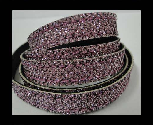 Buy Flat Nappa Glitter  Style Cord - 5mm - SE-FNG-19 at wholesale prices