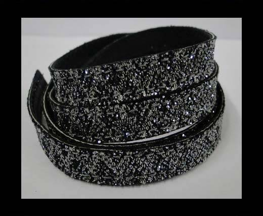 Buy Flat Nappa Glitter  Style Cord  - 10mm - SE-FNG-12 at wholesale prices