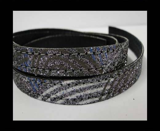 Buy Flat Nappa Glitter  Style Cord  - 10mm - SE-FNG-13 at wholesale prices