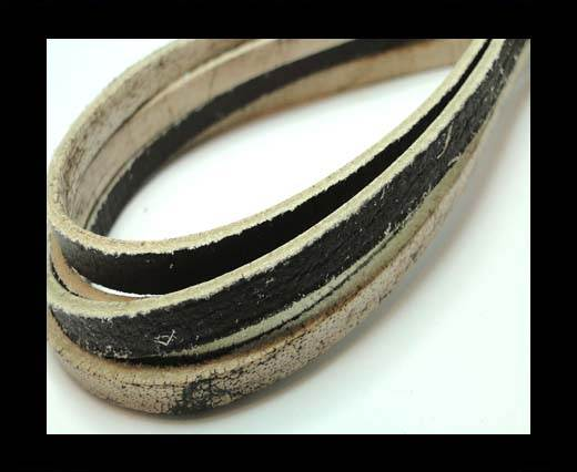 Buy Flat Vintage Leather - 5mm - Dark Brown at wholesale prices