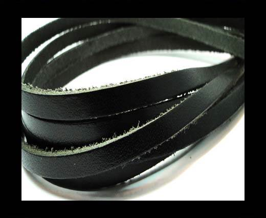Buy Flat Vintage Leather - 5mm -  spl 2 black at wholesale prices