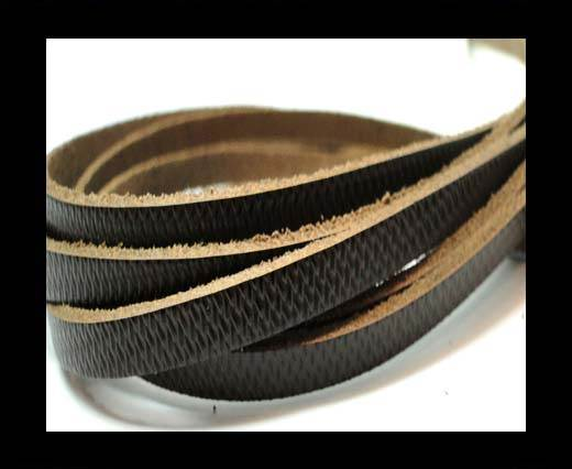 Buy Flat Vintage Leather - 5mm -  spl 12 black at wholesale prices