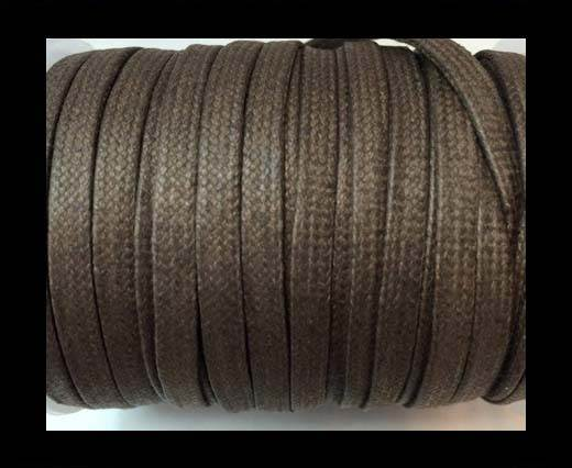Flat Wax Cotton Cords - 3mm - Grey