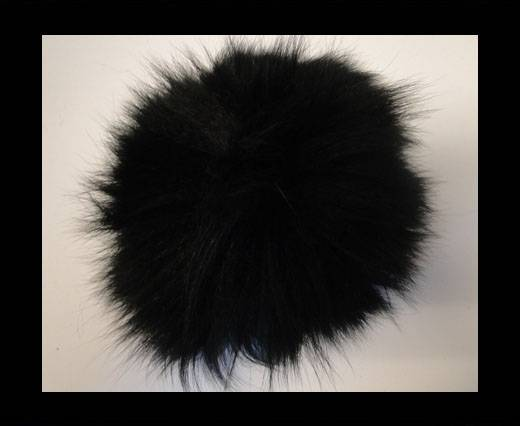 Fox Fur-Black -14cms
