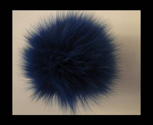 Fox Fur-Dark Blue -14cms