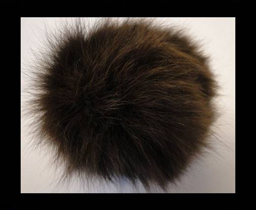 Fox Fur-Dark Brown -14cms