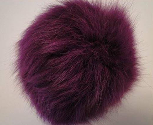 Fox Fur-Dark Purple -14cms