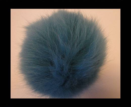 Buy Fox Fur-Turquoise -14cms at wholesale prices