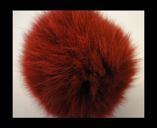 Fox Fur-Wine Red -14cms