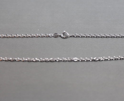 Sterling Silver Chains SE-FR-50-45