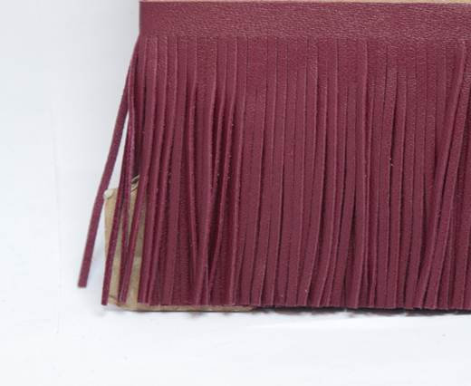 Fringes-8cms-BORDEAUX