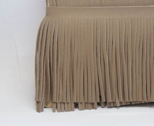 Fringes-8cms-LIGHT BROWN