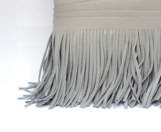 Fringes-8cms-LIGHT GREY