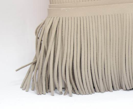 Fringes-8cms-LIGHT TAUPE