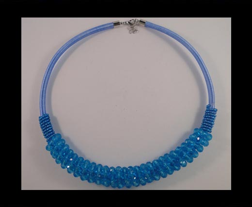 Buy GBJ-Necklace-blue at wholesale prices