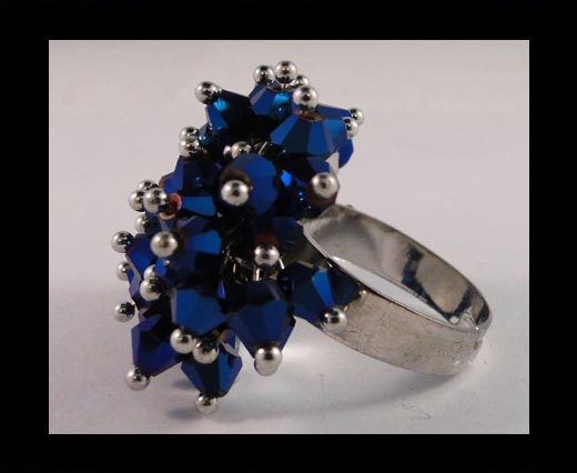 Buy GBJ-Ring-Metallic Blue at wholesale prices
