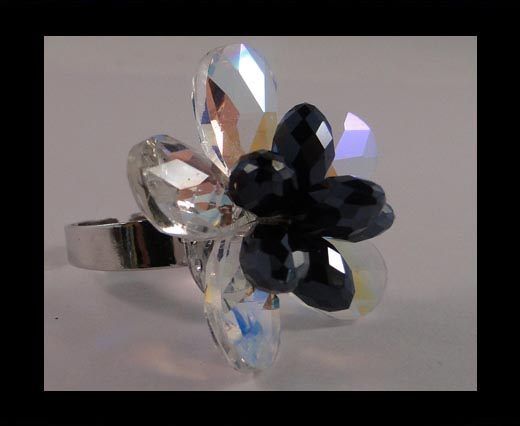 Buy GBJ-Ring-Rose Crystal at wholesale prices