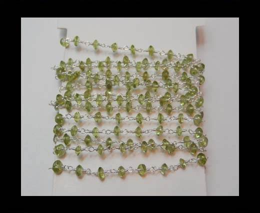 Gemstone Chains - Peridot