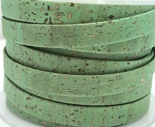 Cork Flat-10mm-GREEN