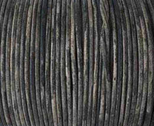 Cordoncino di cuoio -1mm-  Vintage Grigio(026)