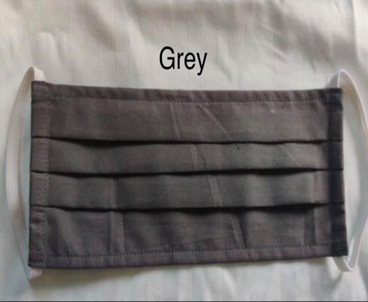 Grey  Washable Cotton Mask