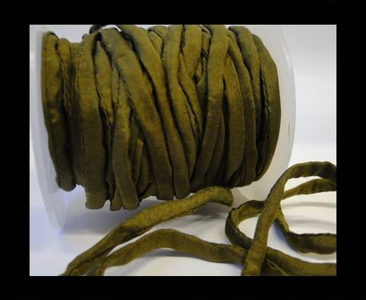 Buy Habotai silk cords - 4661 - Olive at wholesale prices