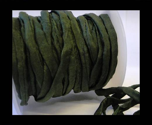 Buy Habotai silk cords - 4696 - Forest Green at wholesale prices