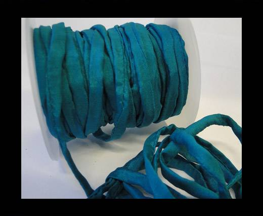 Buy Habotai silk cords - 4750 - Deep Aqua at wholesale prices