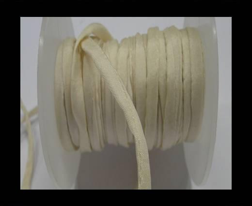 Habotai silk cords - Cream 4002