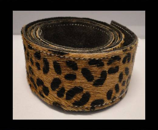 Buy Hair-On Leather Belts-Leopard Skin (small spots)-40mm at wholesale prices
