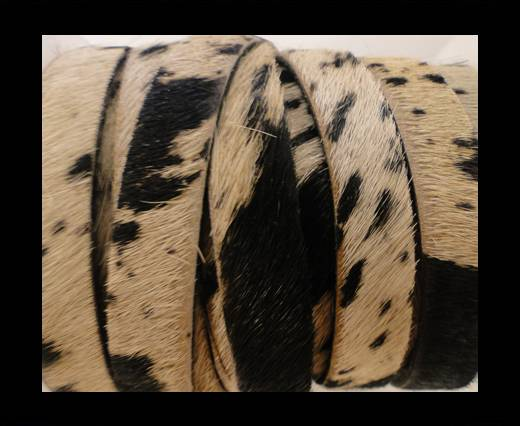 Hair-On Leather Flat-Cow Skin-20mm