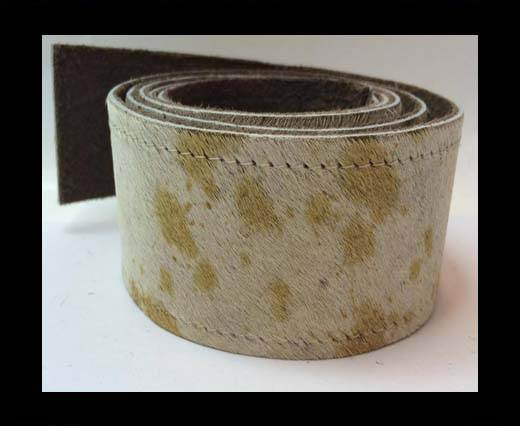 Buy Hair-On Leather Belts-Cow Skin -40mm at wholesale prices