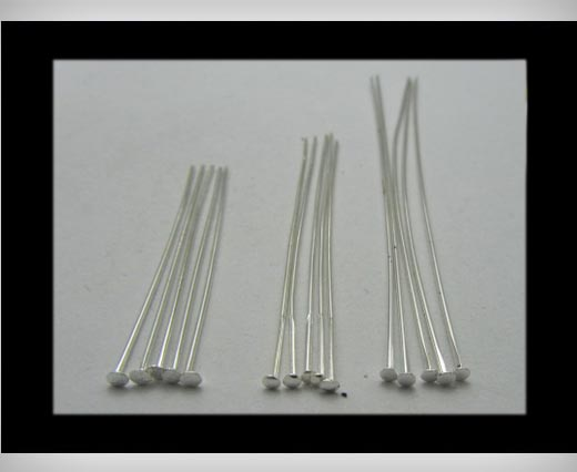 Head Pins FI-7022-Silver-40mm