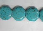Hexagonal Turquoise