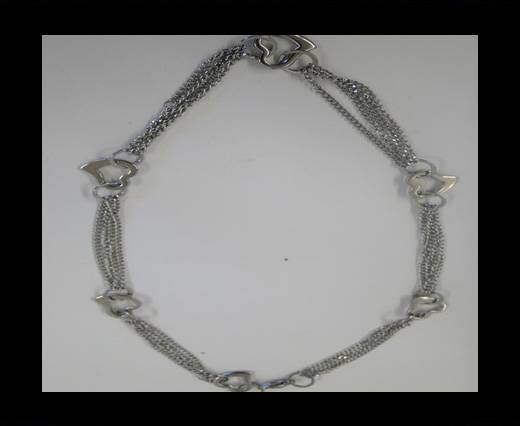 High Quality Steel Neclace-Number 5