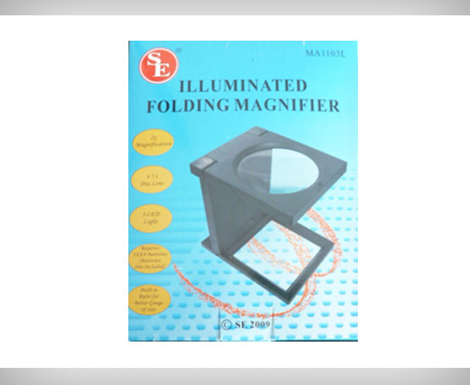 Illuminated Folding Magnifier