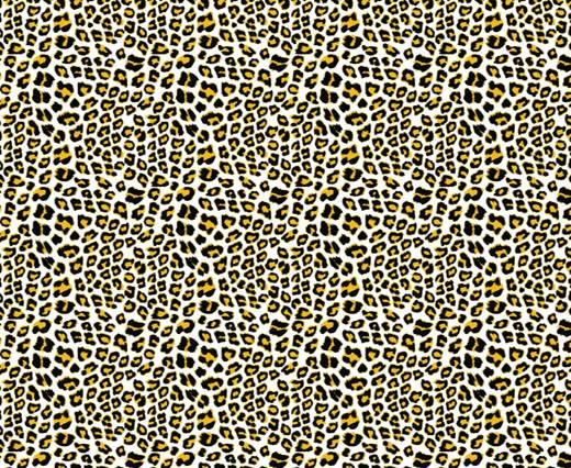 Print 1- Hair-On Cow Hide Leather