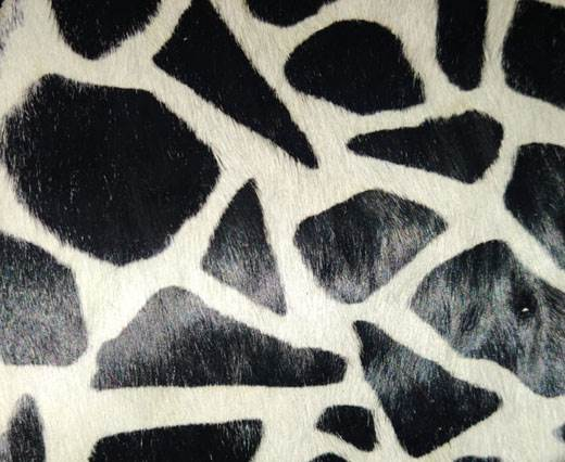 Print 7- Hair-On Cow Hide Leather