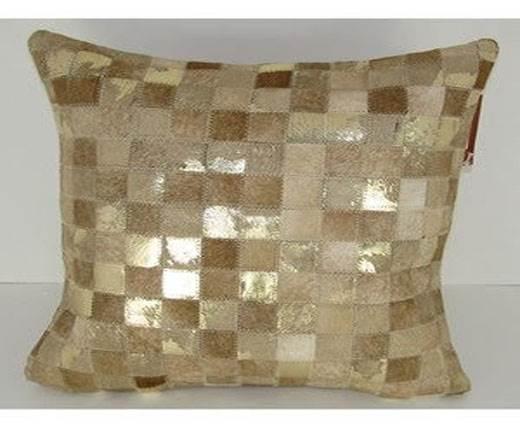 Hair-on Leather Cushion-Style2