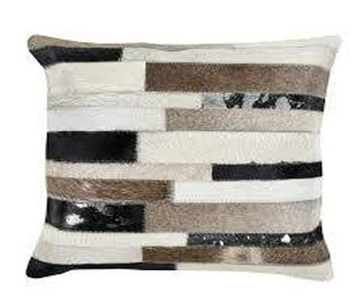 Hair-on Leather Cushion-Style3