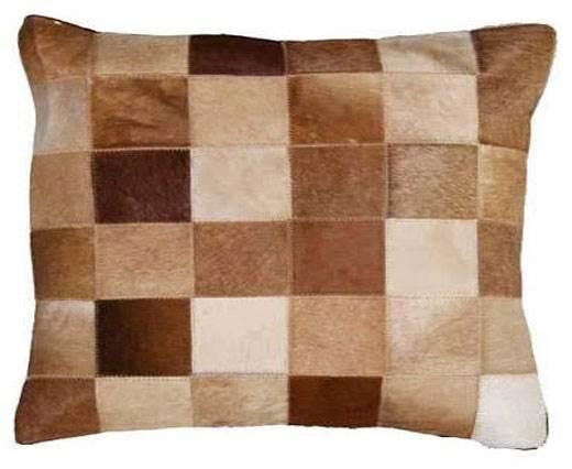 Hair-on Leather Cushion-Style4