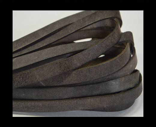 Buy Italian Flat Leather 10mm-Vintage Brown at wholesale prices