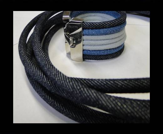 Jeans Cords-4mm-Dark blue style 2