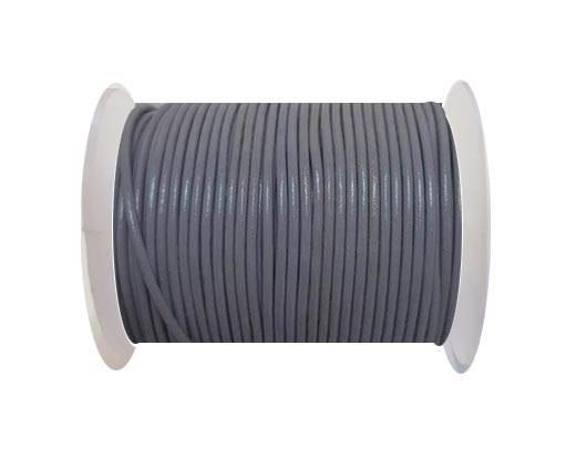 Round Leather Cord -1mm - LAVANDER