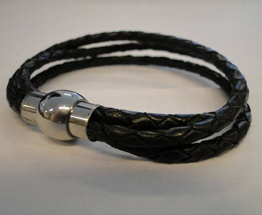 Buy Leather Bracelets MLBSS-4 at wholesale prices