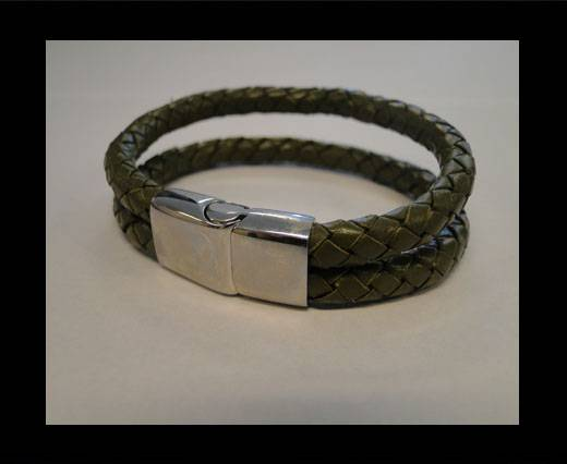 Buy Leather Bracelets MLBSS-9 at wholesale prices